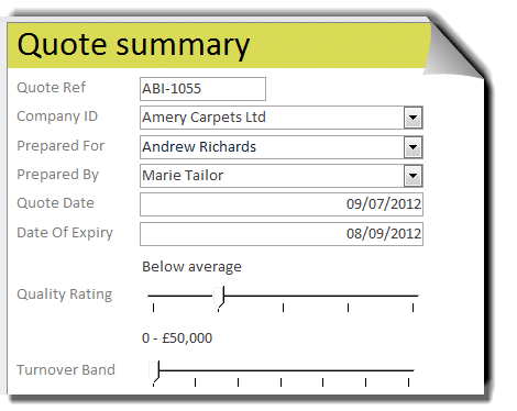 Take a look at examples of database designs we've created.